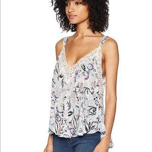 FREE PEOPLE INFINITY LOVE FLORAL CAMI